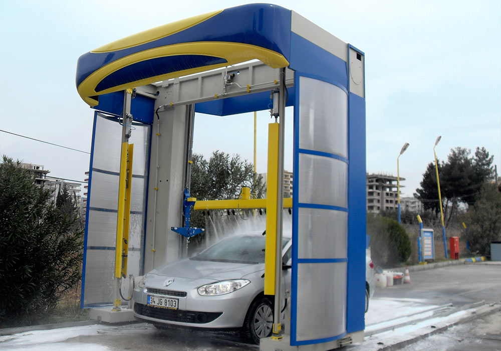 Find a touchless car wash near me