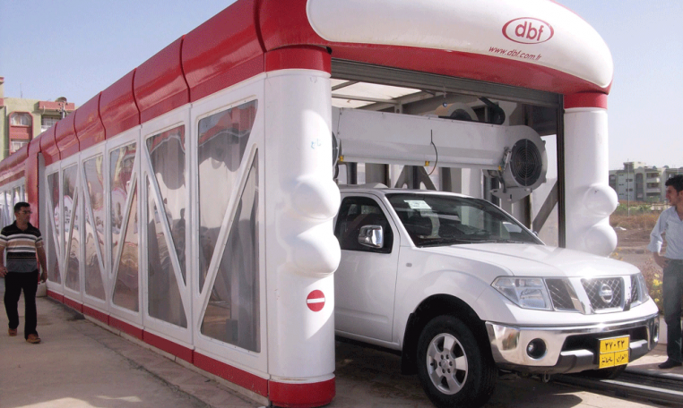 tunnel car wash systems - DBF